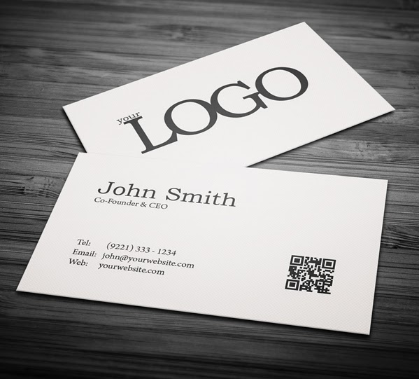 Free Minimal Business Card PSD Template Freebies PSD - Business cards psd template