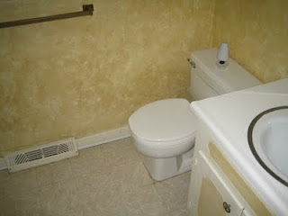 hall bath before