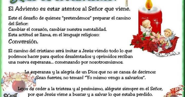 Blog Católico Navideño ®: IMAGENES DE ADVIENTO - ¿QUÉ ES EL ADVIENTO?