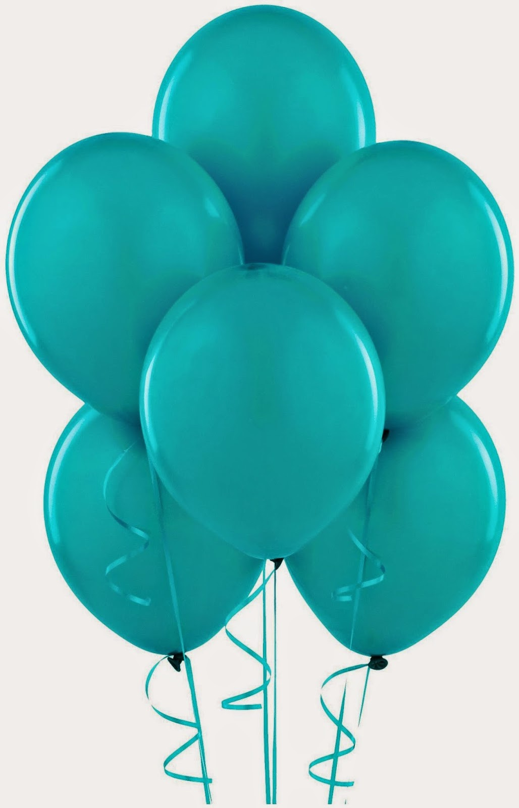 Blue Balloon Decoration