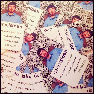 daniel sloan business cards scattered
