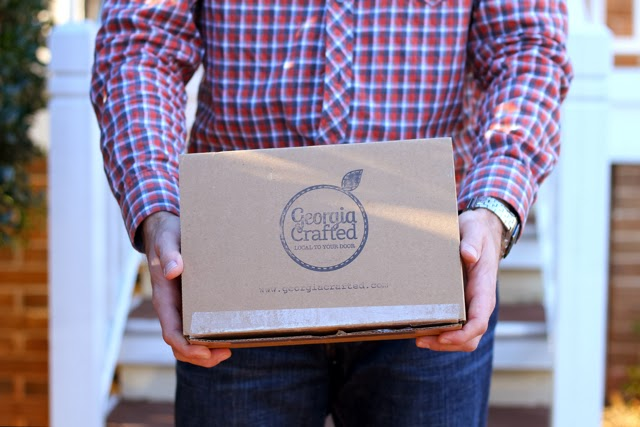 Georgia Crafted hand delivered
