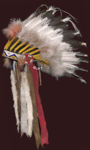 THE LEGACY OF THE NORTH AMERICAN INDIAN: Sioux Headdress / War Bonnet