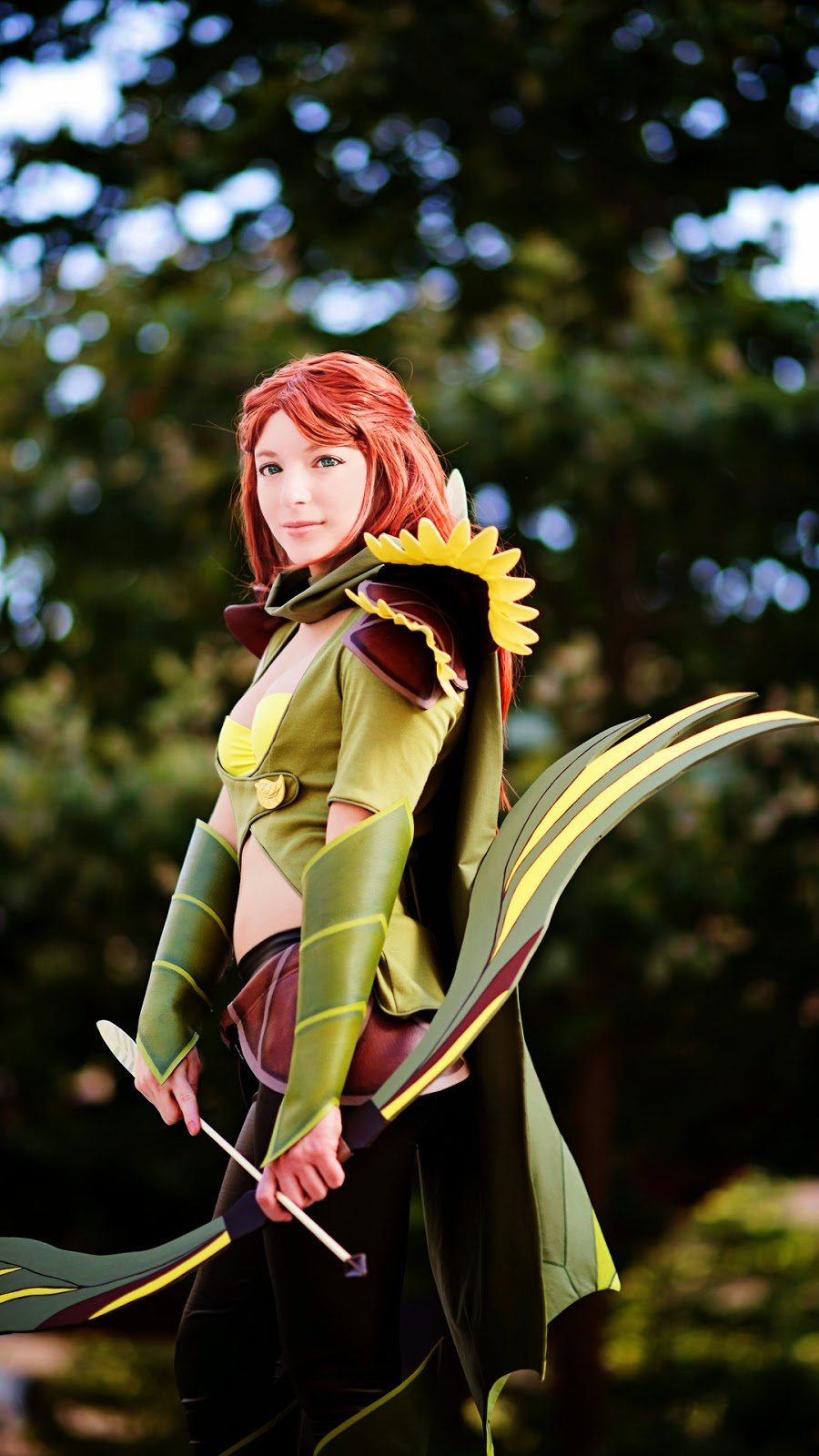 A day with WindRanger - DotA 2 cosplay