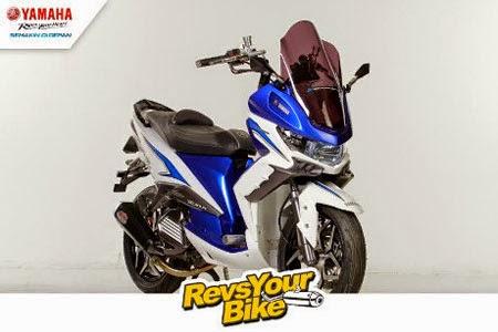 juara kontes modifikasi Yamaha Revs Your Bike 2014