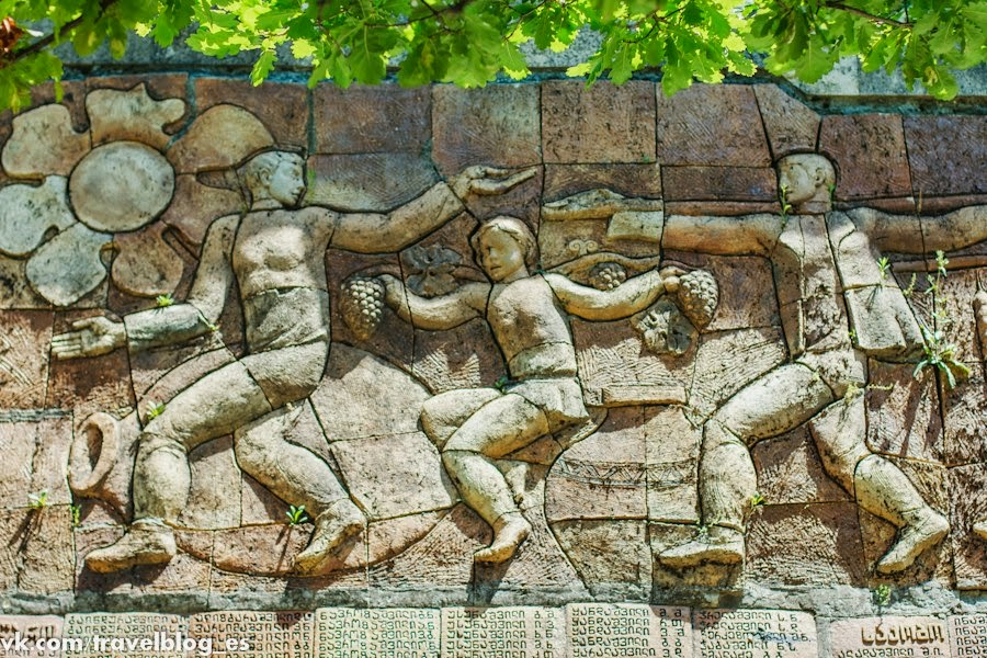 Стена в Сигнахи