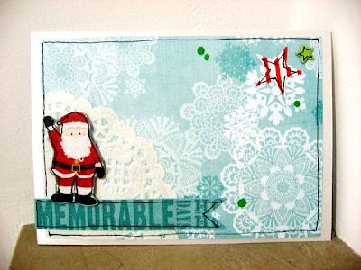 """Card natalizia """"Memorable Days"""""""
