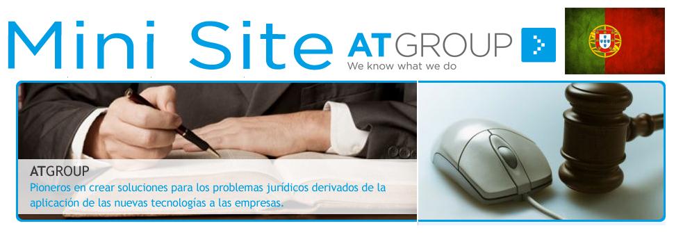 Minisite AT Group Português