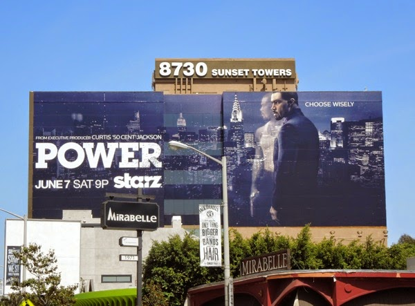 Giant Power series premiere billboard