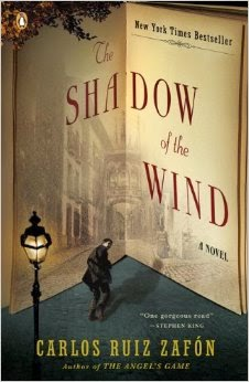 April Selection:  Carlos Ruiz Zafon's Shadow of the Wind