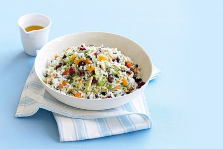 Fruity rice salad