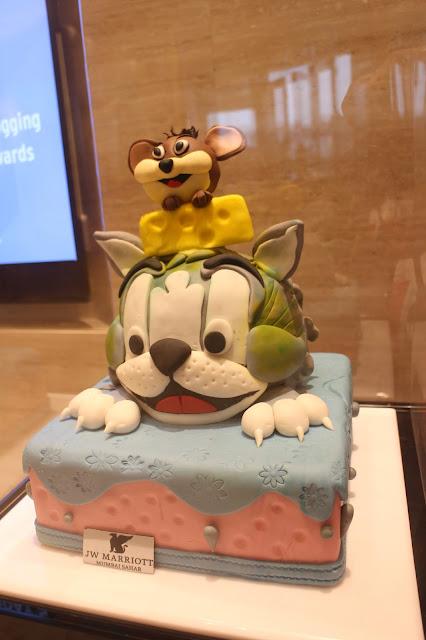 J W Marriott, J W Marriott Sahar, Cake Exhibition, Celebrate with JW Sahar, cakes, sugar craft, sweet tooth