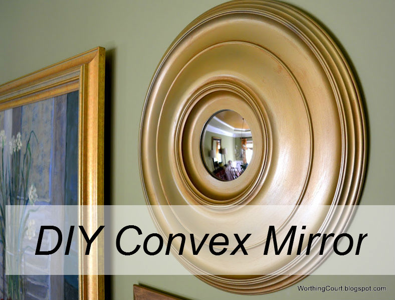 Diy convex mirror the everyday home for Making mirrors
