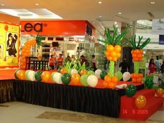 balon standing panggung
