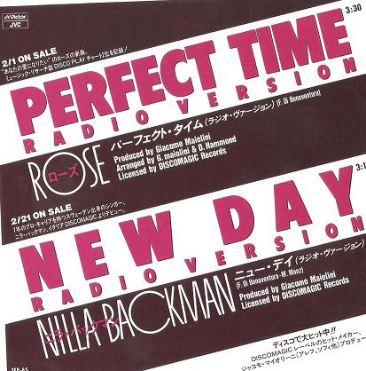 Rose & Nilla Backman - Perfect Time & New Day (Maxi 89')