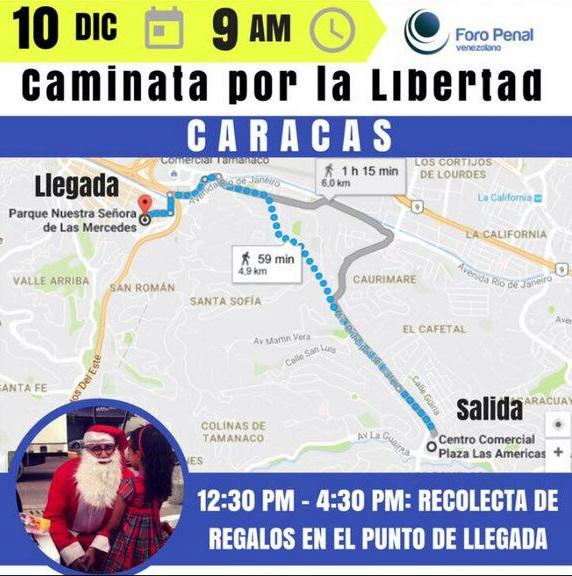 Caminata por la Libertad #10D, 9:00 am