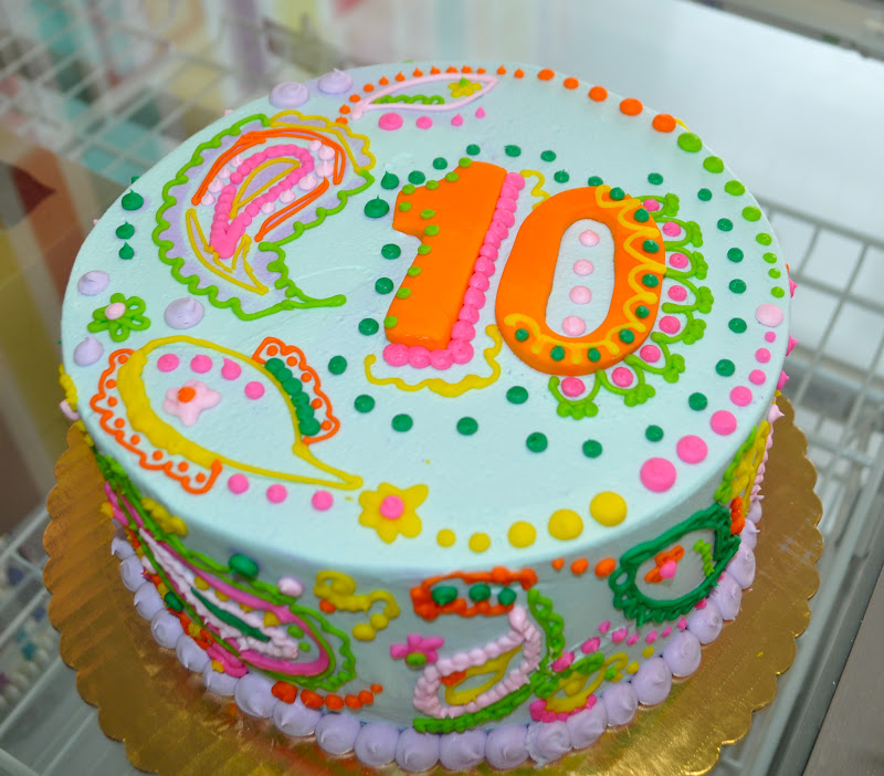 10 year old birthday cakes