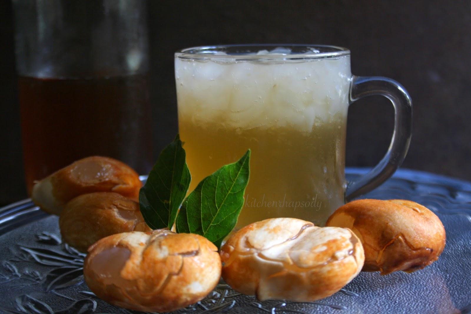 Fruit Mix Sarbath, Nongu Sarbath - Summer Drinks, Mixed Fruits Sherbet ...