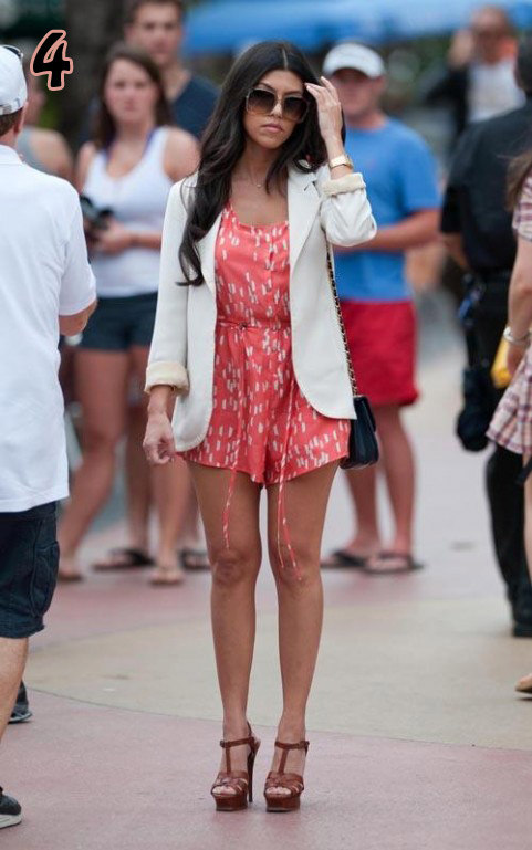 Fashionistas Diary A Kardashian Look Kourtney