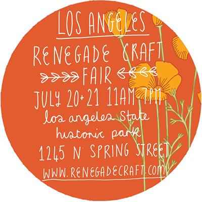 Georgia gabrielle design renegade craft fair in los for Craft fair los angeles