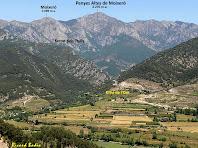 La Serra del Moixeró des de Matallops. Autor: Ricard Badia
