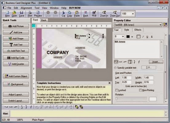 Business Card Designer Plus 11.5.1 Full