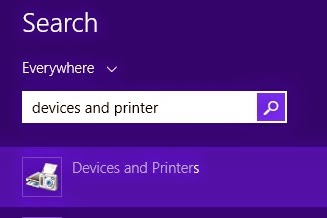 Cara Share Printer di Windows 8.1