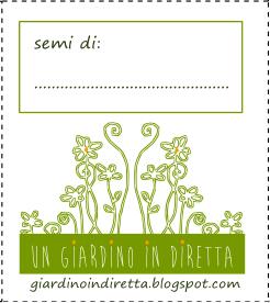 scarica e stampa la bustina per i semi