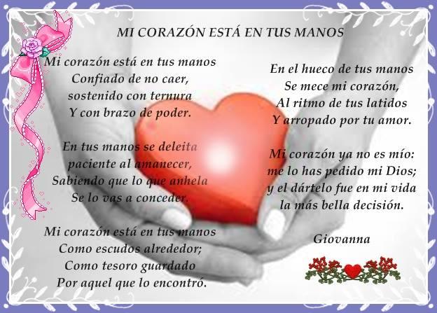 mi corazon es tuyo Dios