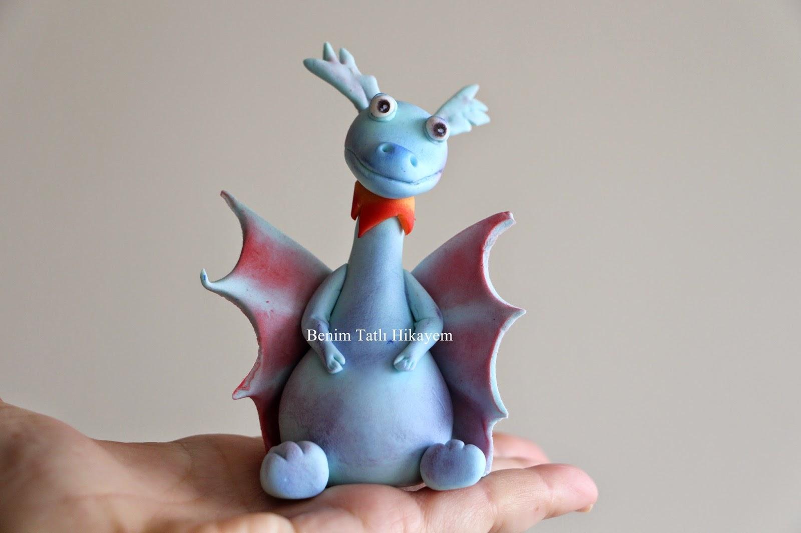 fondant dragon