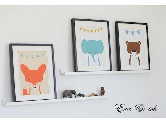 20 Tierbilder Kinderzimmer Bilder. Kinderbilder Furs Kinderzimmer ...