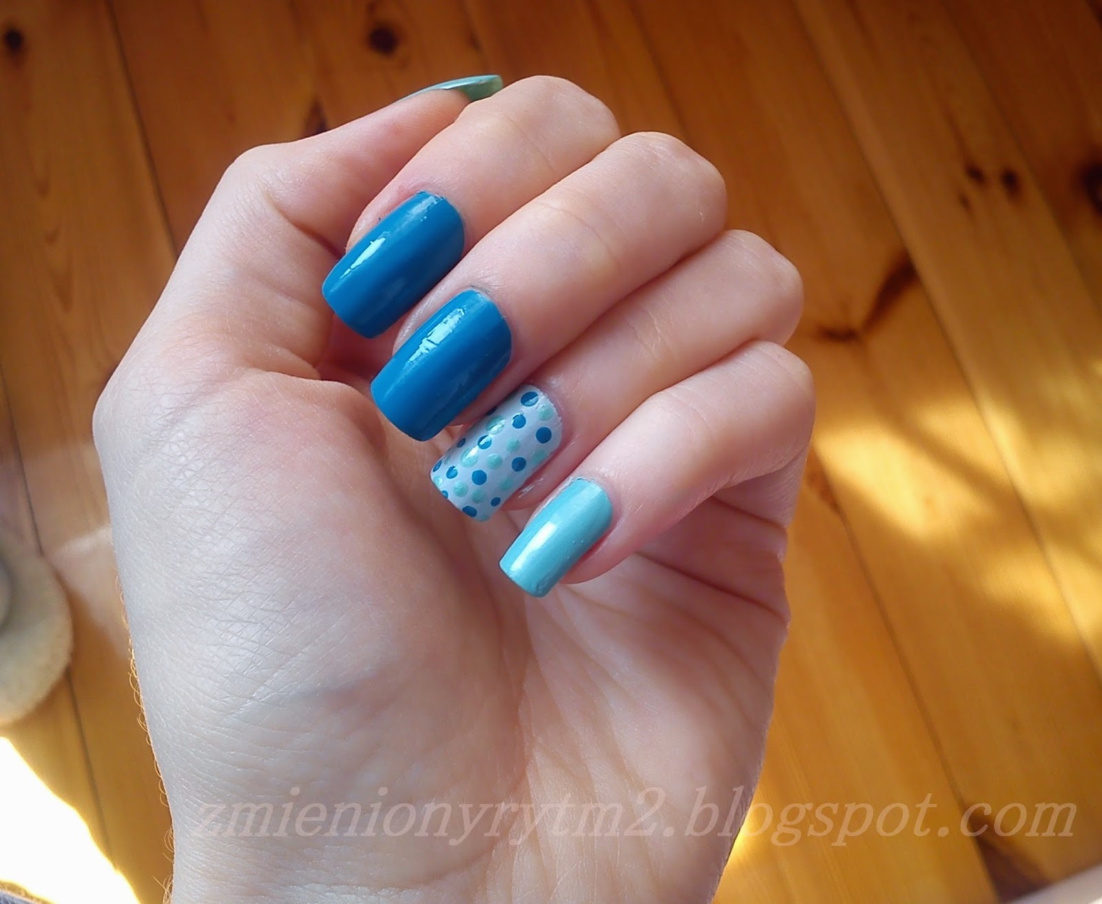 #2 - wiosenno - letnie paznokcie
