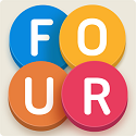 Four Letters Icon Logo