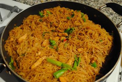 Тайская рисовая лапша