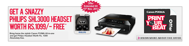 Canon Pixma Printers Offer