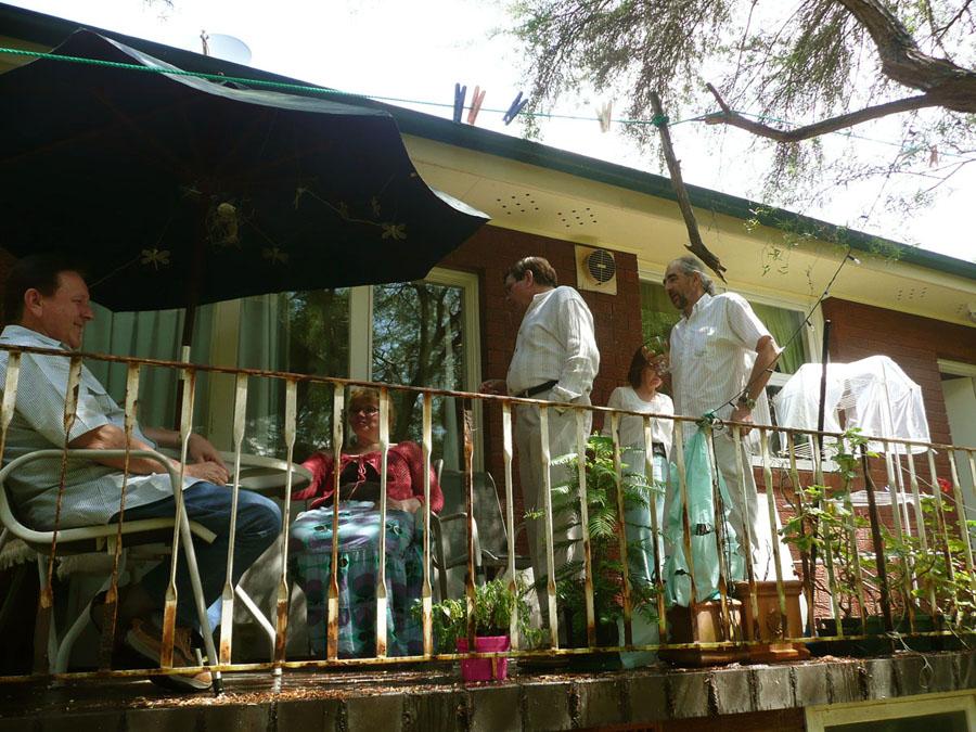 Radiowcy u Beaty Rumianek