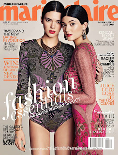 Kendall Jenner, Kylie Jenner HQ Pictures Marie Claire South Africa Magazine Photoshoot June 2014