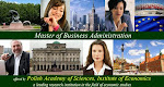 Affordable, Flexible, Executive MBA - Polish Academy of Science, Institute of Economics.