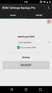 ROM Settings Backup Pro v1.30