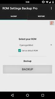 ROM Settings Backup Pro v1.30