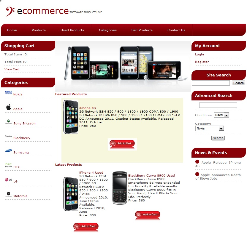 Shopping Cart Software Ecommerce Software By Ecommerce