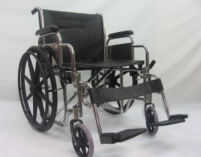 Kerusi roda lebar 宽座轮椅 Wide seat wheelchair ( seat width 50cm – 55cm )