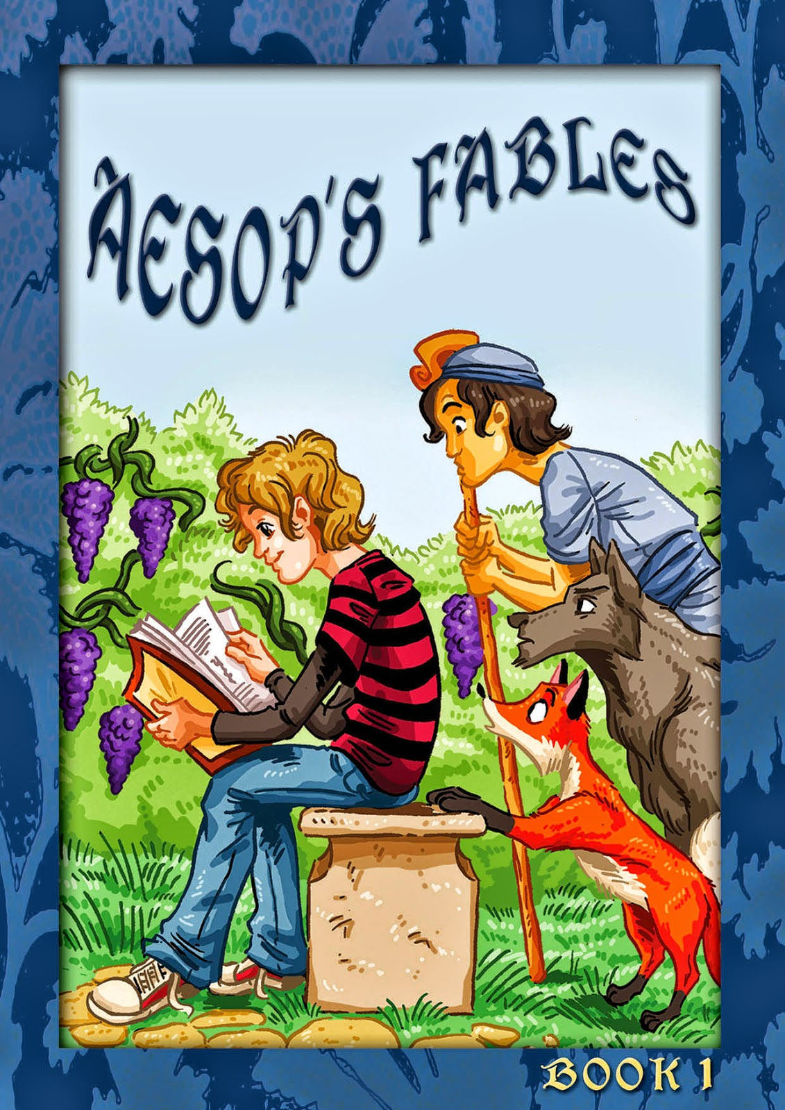 Aesop' Fables, Bulgarian-English, Kindle, Online, Digital, Electronic