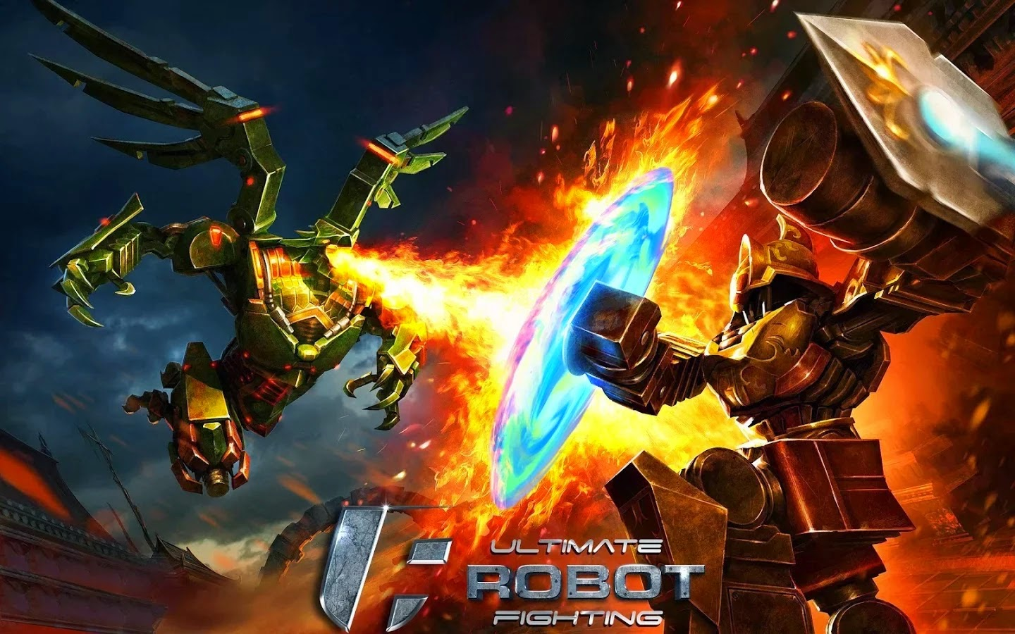 Ultimate Robot Fighting v0.0.73 APK Mod