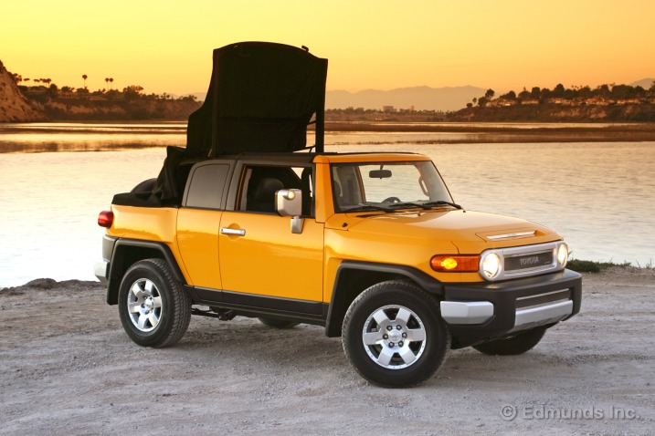 Convertible Conversion Give Toyota FJ Cruiser Owners A Power Operated Soft  Top In Place Of The Standard Steel Roof, But It Also Eliminates The Toyota  FJu0027s ...