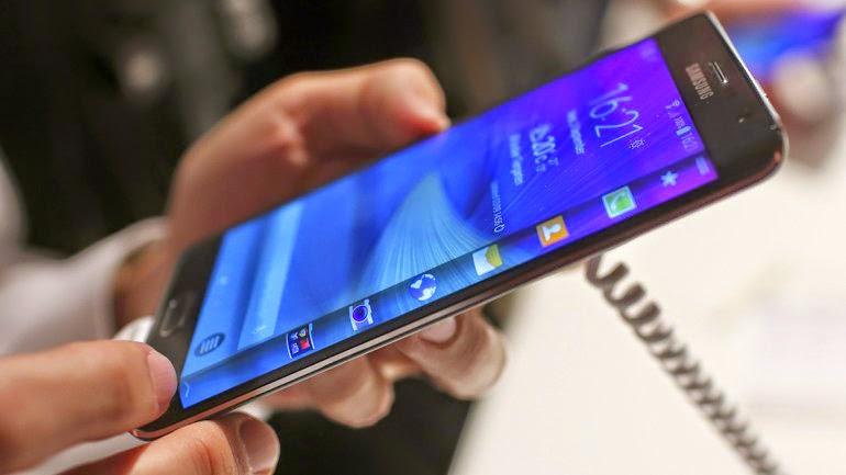 Samsung incorporará pantallas de tres caras en el proximo Galaxy S6