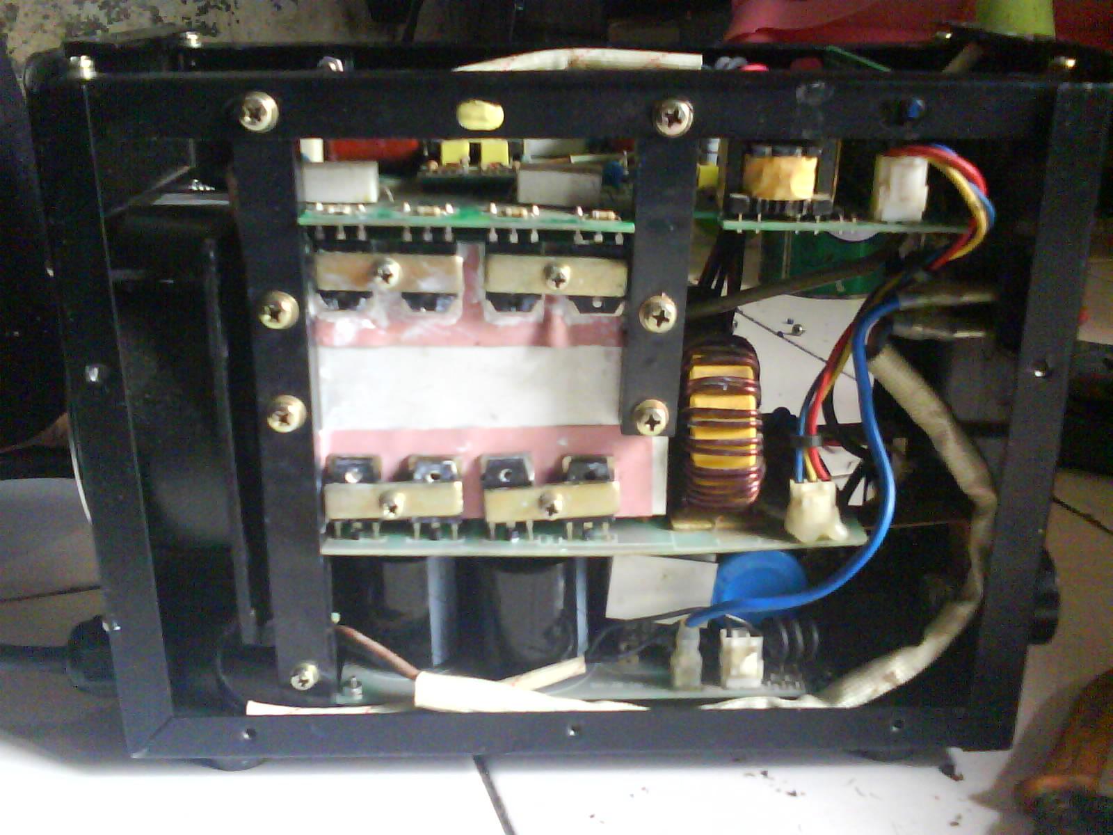 Seorang kawan lama membawa mesin las listrik merk PORTO PD85 kepada