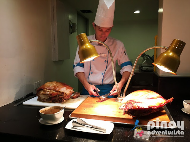 Carving Station at Sea Breeze Restaurant Boracay