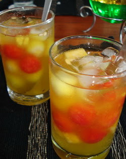Cara membuat es buah Untuk Berbuka Puasa