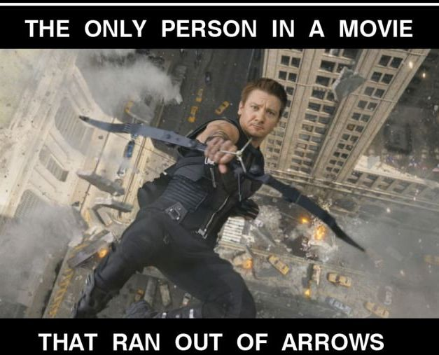 Bad Luck Hawkeye